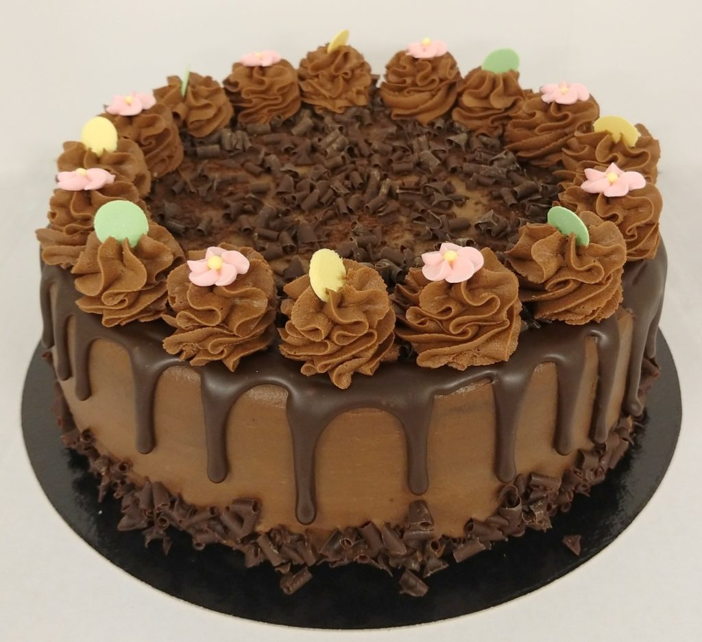 Dripcake Sjokolade2