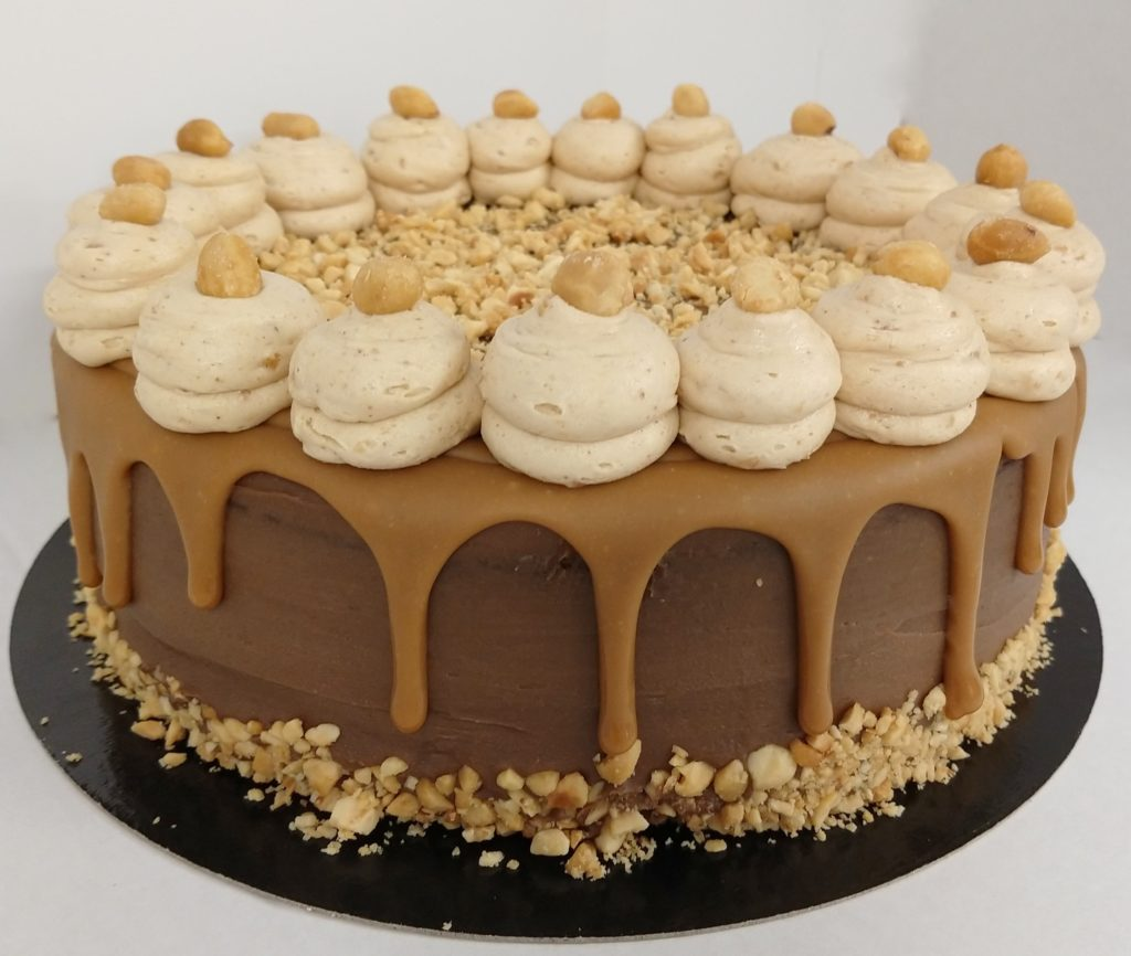Dripcake Snickers